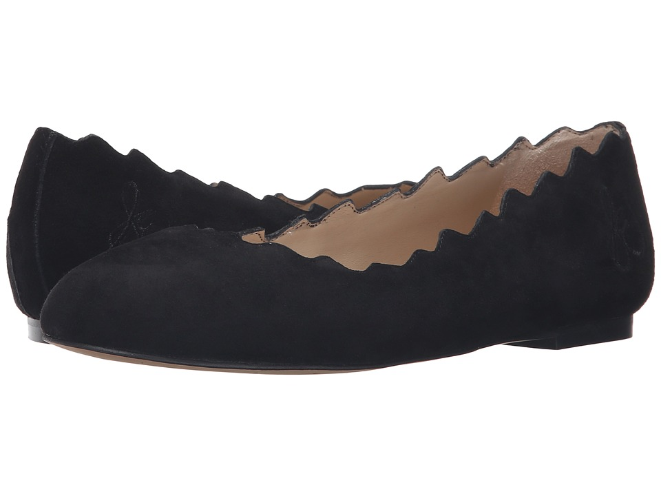 Sam Edelman - Francis (Black Kid Suede Leather) Women's Shoes