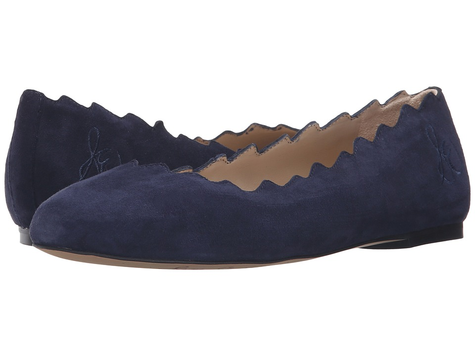 Sam Edelman - Francis (Space Blue Kid Suede Leather) Women's Shoes