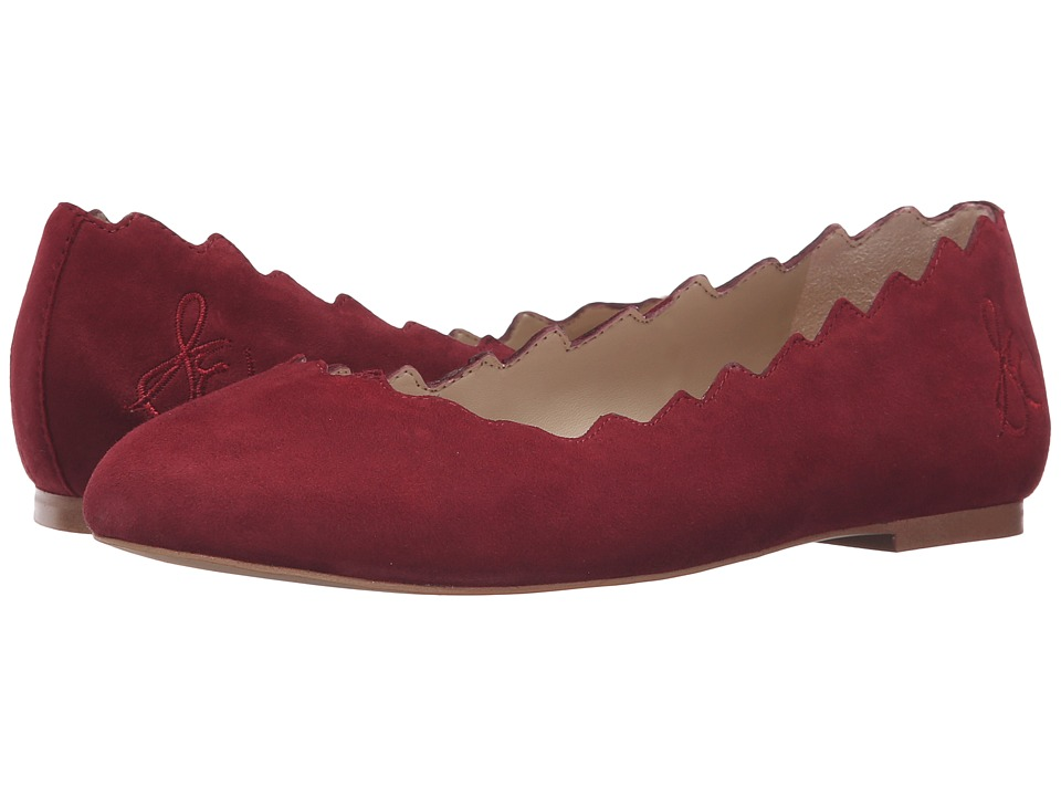 Sam Edelman - Francis (Tango Red Kid Suede Leather) Women's Shoes