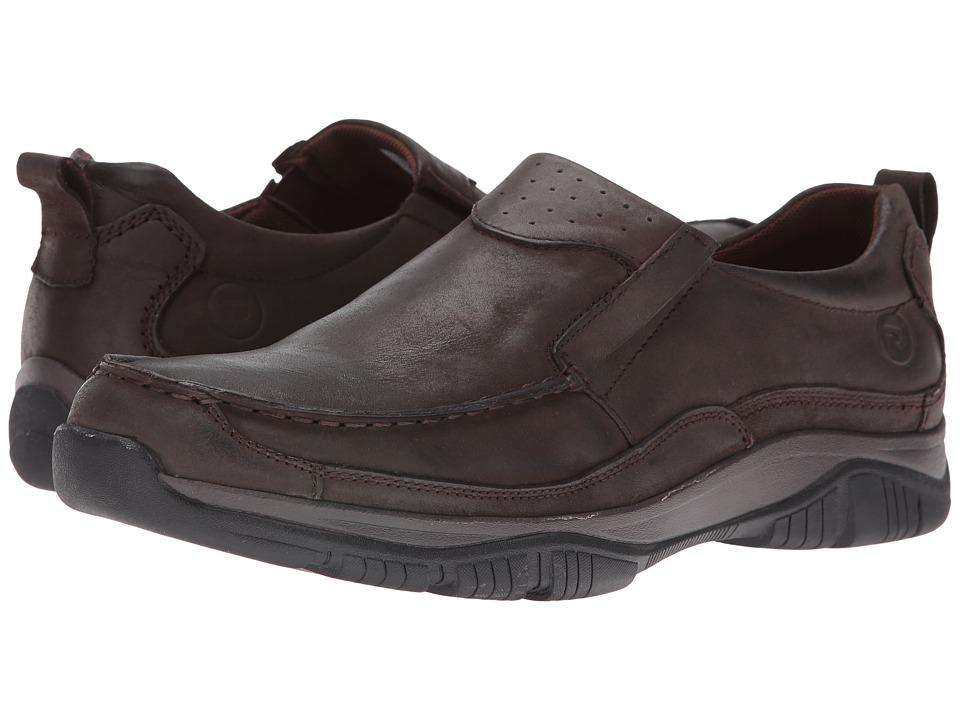 Propet - Felix (Coffee) Men's Slip on Shoes