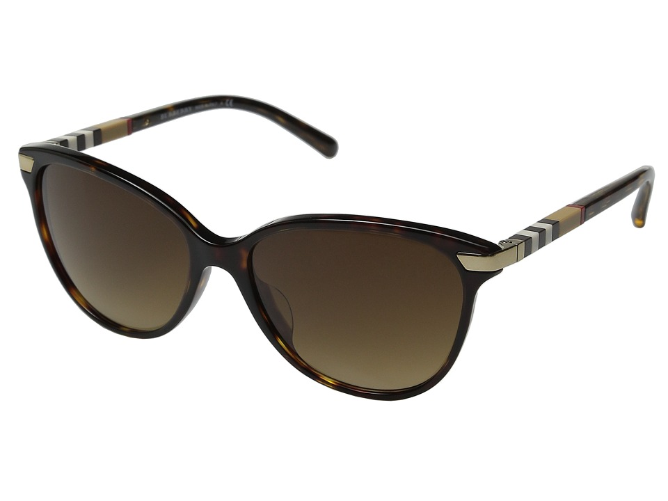 Burberry - 0BE4216F (Dark Tortoise) Fashion Sunglasses