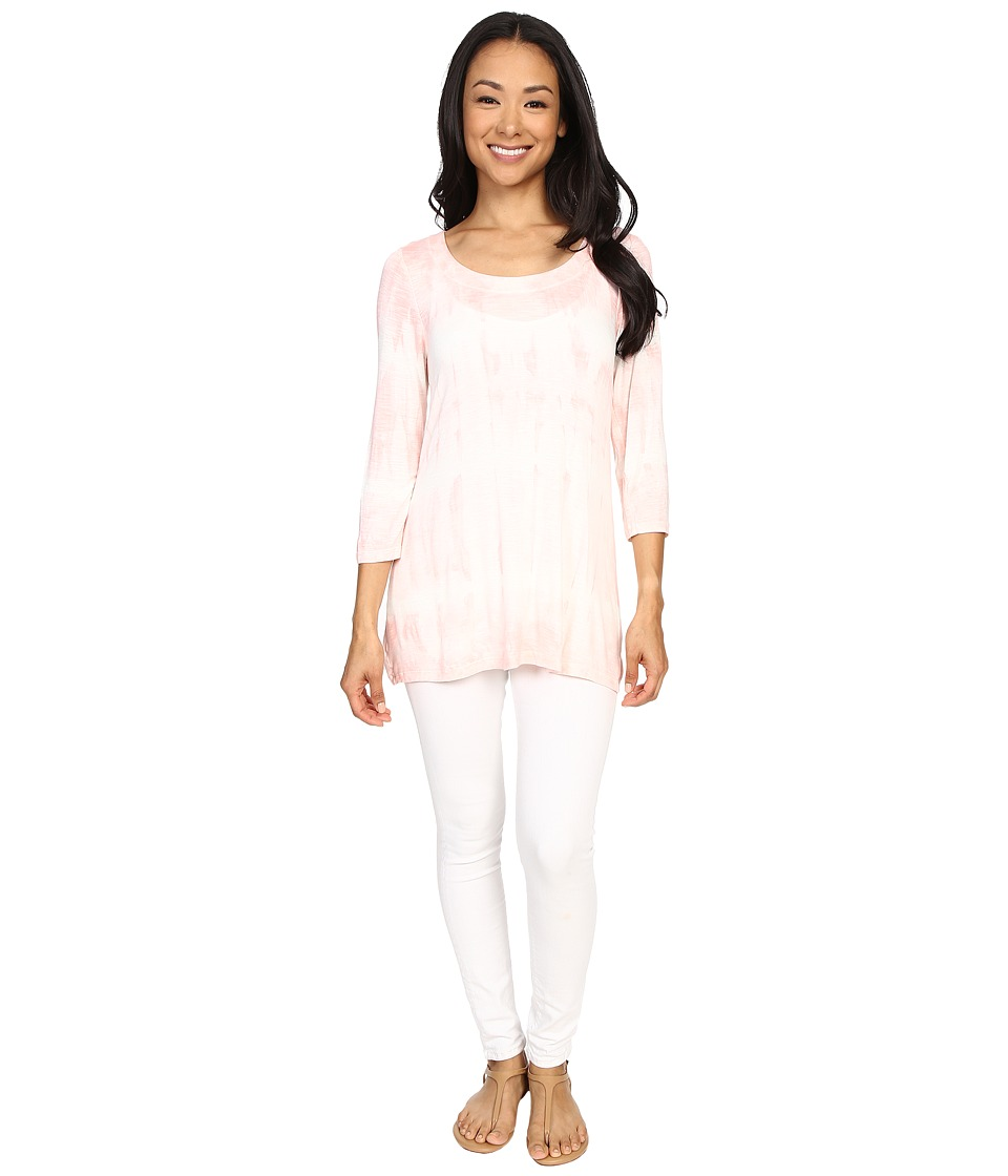 Miraclebody Jeans - BFF Sharkbite Top w/ Body-Shaping Inner Shell (Blush Pink) Women's T Shirt