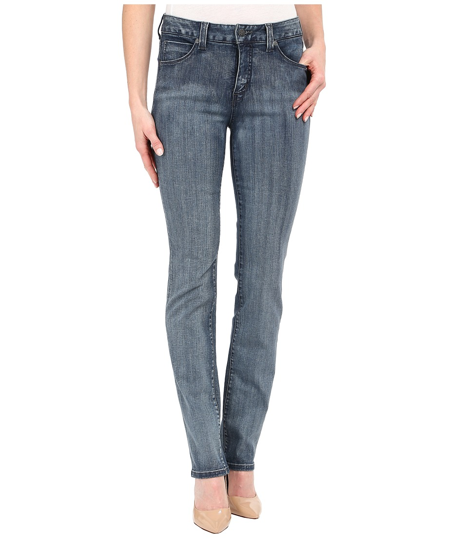 Miraclebody Jeans - Katie Straight Leg Jeans in Newburg Blue (Newburg Blue) Women's Jeans