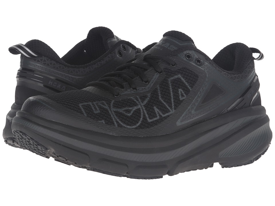 Hoka One One - Bondi 4 (Black) Men's Running Shoes