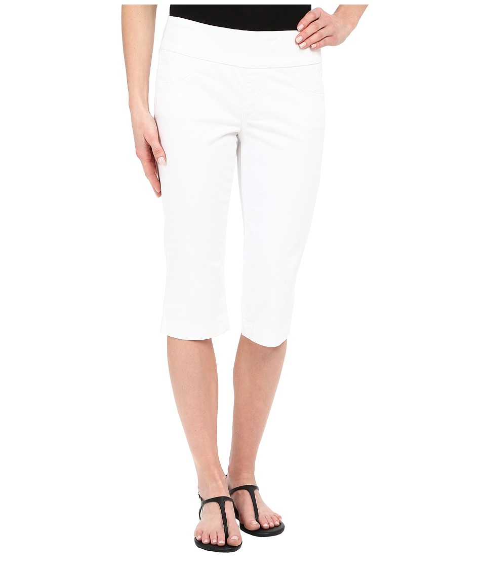 Miraclebody Jeans - Rudy 17 Cuffed Sateen Shorts (White) Women's Shorts