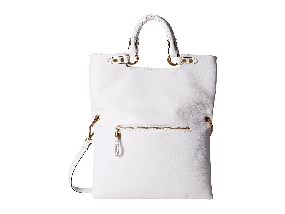 Elliott Lucca - Iara Crossbody Foldover Tote (White Spring Botanica) Tote Handbags