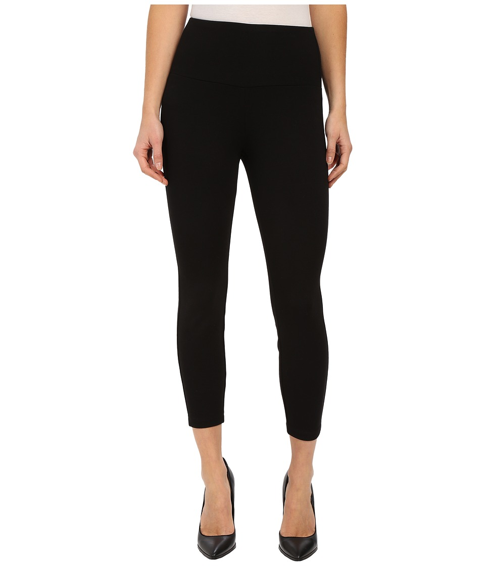 Miraclebody Jeans - Lilia 26 Cropped Leggings (Black) Women's Casual Pants