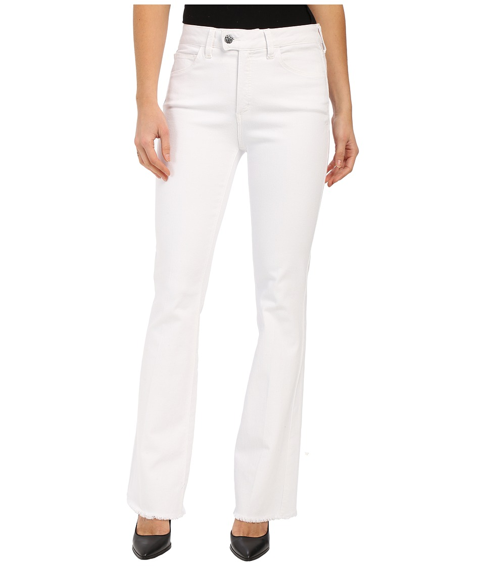 Miraclebody Jeans Tara Flare Jeans in White (White) Women