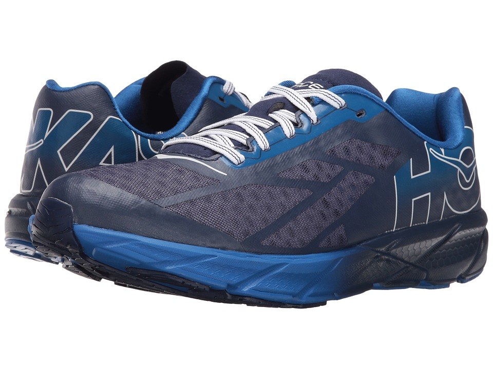 Hoka One One - Rocket Trainer (Medieval Blue/White) Men's Running Shoes