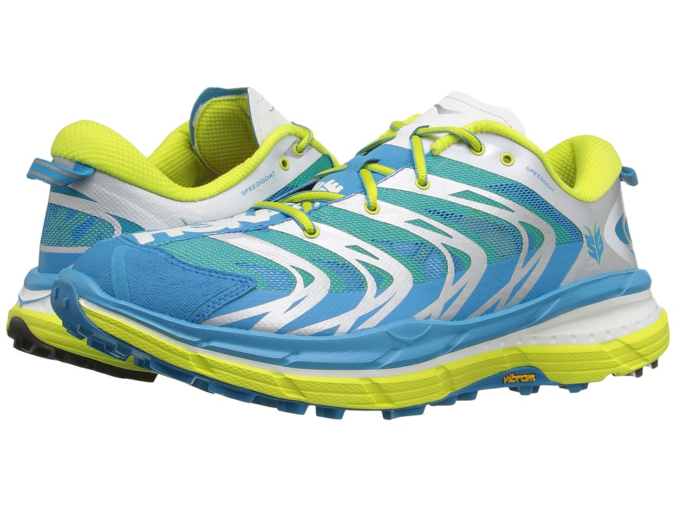 Hoka One One - Speedgoat (Cyan/Citrus) Men's Running Shoes