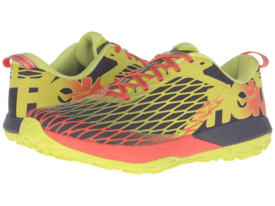 Hoka One One - Speed Instinct (Nightshade/Acid) Men's Shoes