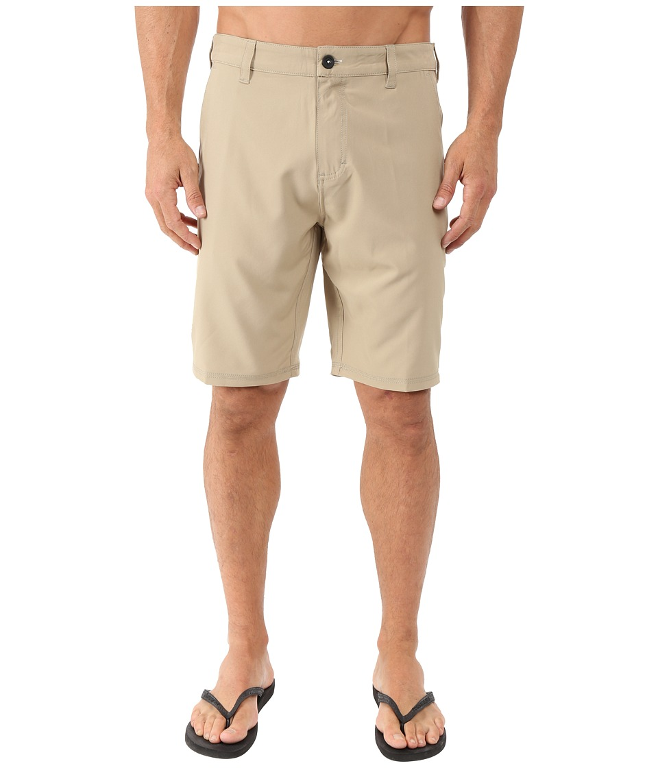 Tavik - Hawkins Hybrid Shorts (Khaki) Men's Shorts