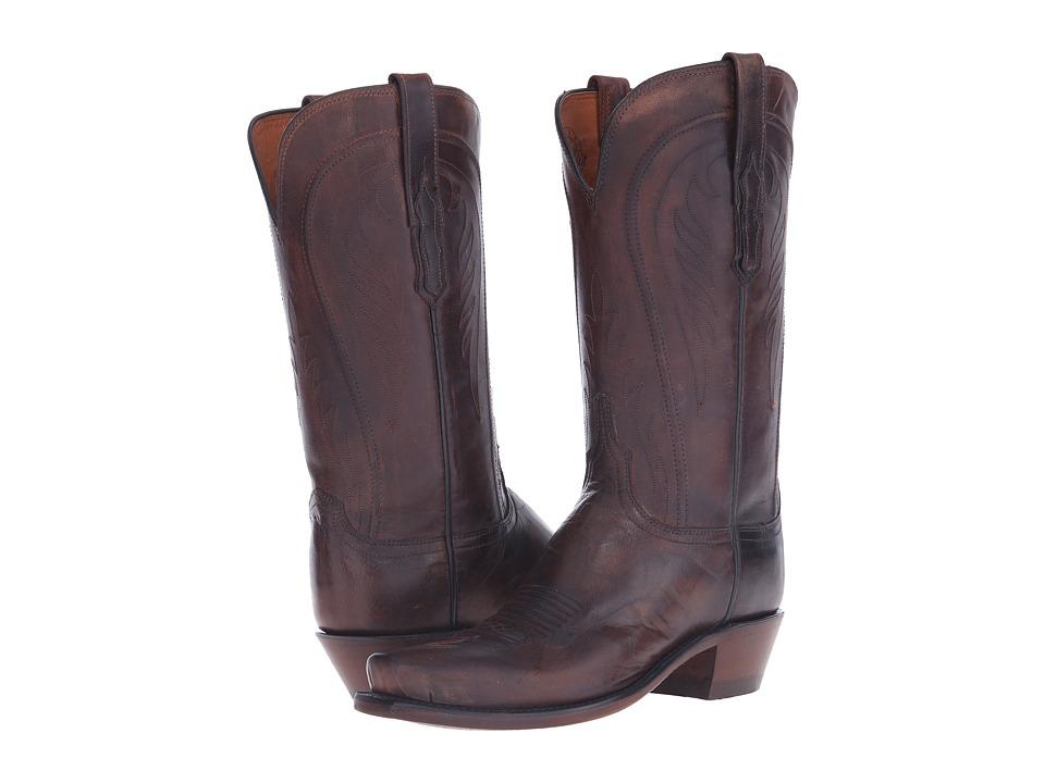 Lucchese Willa (Peanut Brittle) Cowboy Boots