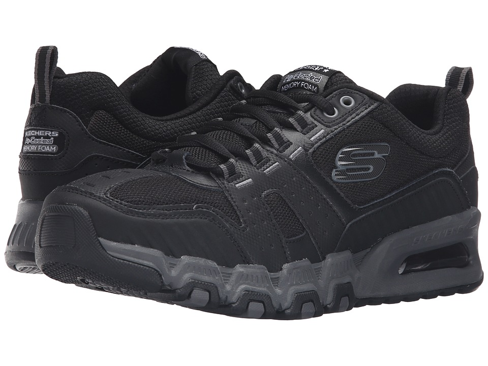 SKECHERS G-Force Air (Black/Charcoal) Men