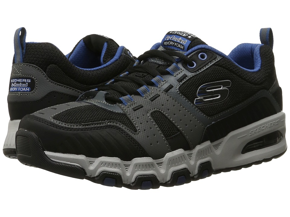 SKECHERS - G-Force Air (Charcoal/Black) Men's Lace up casual Shoes