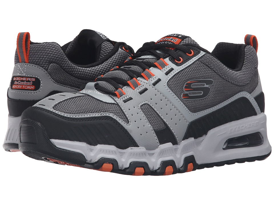 SKECHERS - G-Force Air (Gray/Orange) Men's Lace up casual Shoes