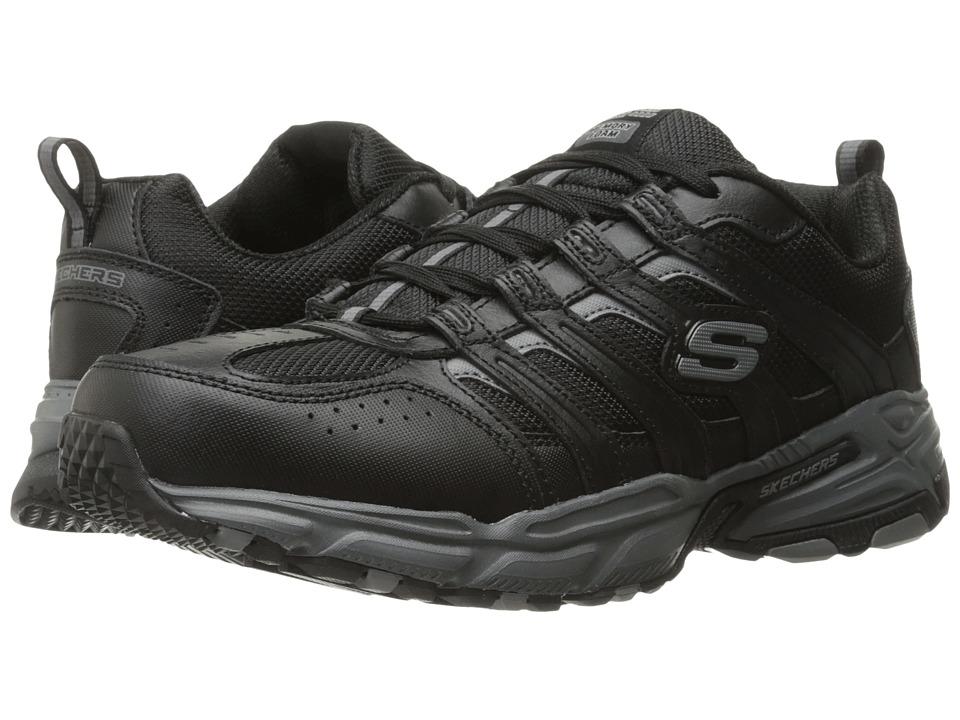 SKECHERS Stamina Plus Rappel (Black/Gray) Men