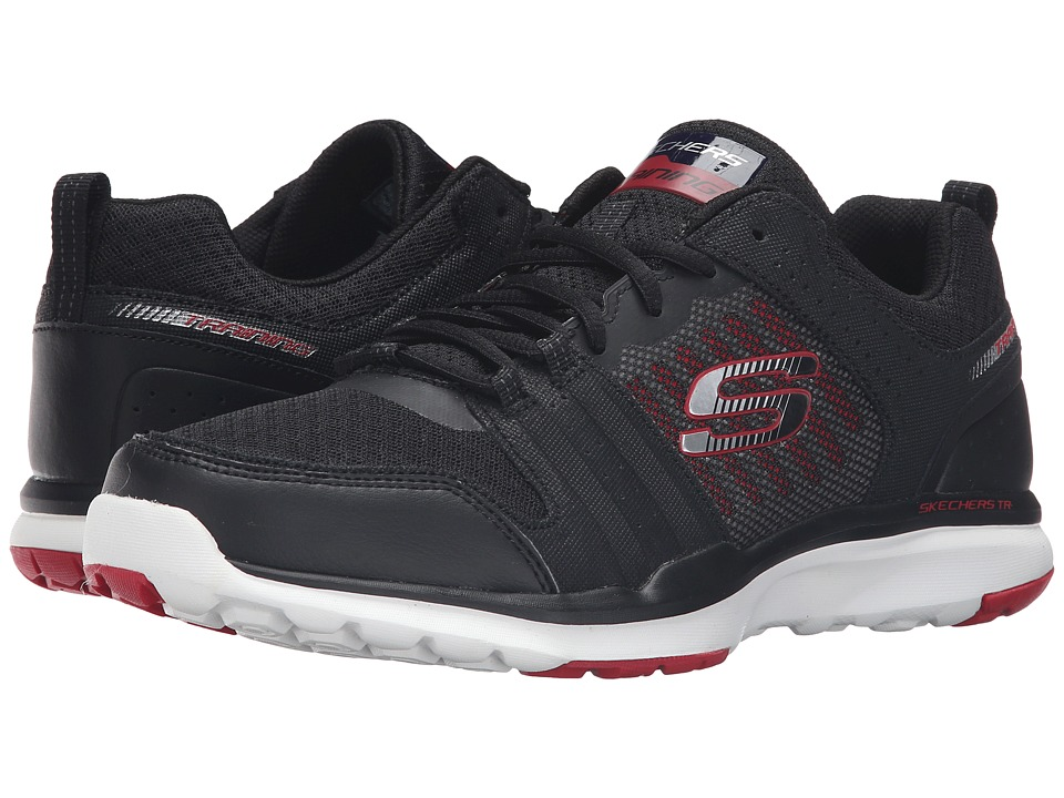 SKECHERS Quick Shift TR (Black/Red) Men