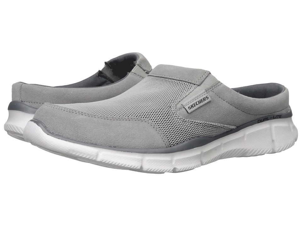 SKECHERS - Equalizer Coast To Coast (Gray) Men's Lace up casual Shoes