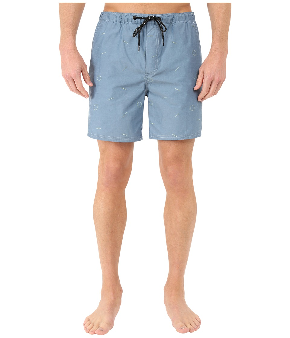Tavik - Belmont Boardshorts (Harbor Green) Men's Swimwear
