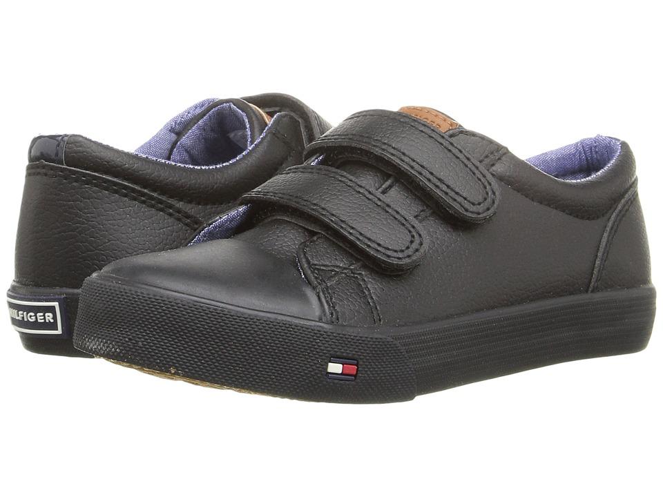 Tommy Hilfiger Kids - Cormac Core HL (Toddler/Little Kid) (Black) Boy's Shoes