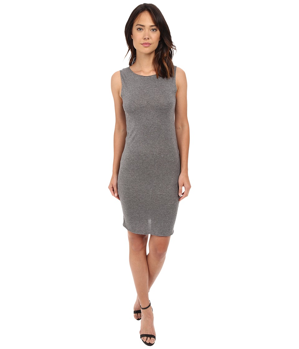 Project Social T - Secretary Dress (Heather Charcoal) Women's Dress