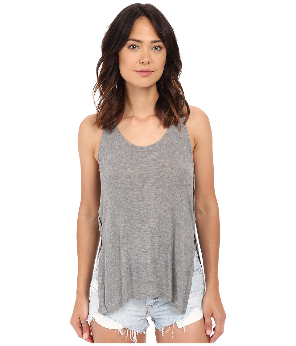 Project Social T - Slater Tank Top (Heather Grey) Women's Sleeveless