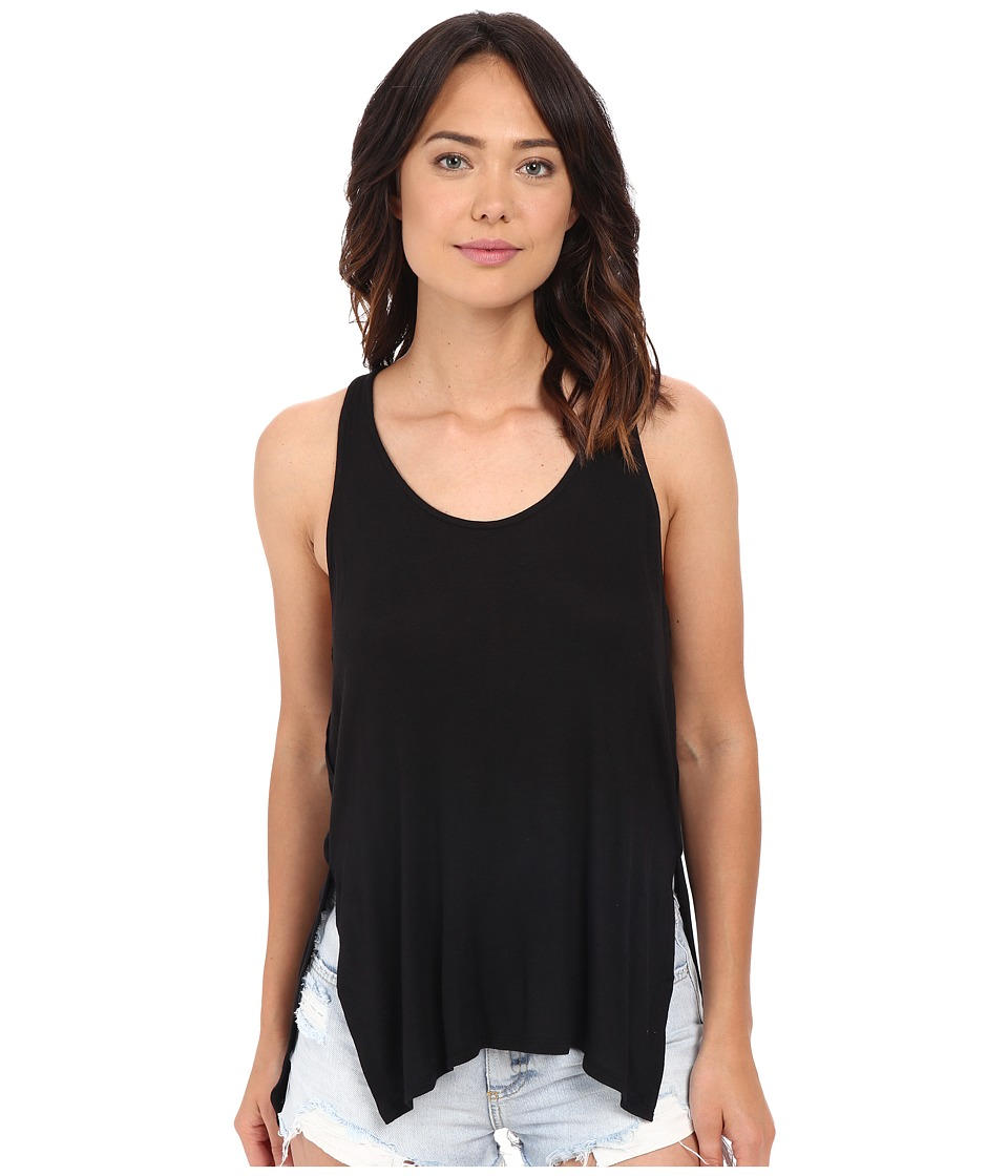 Project Social T - Slater Tank Top (Black) Women's Sleeveless
