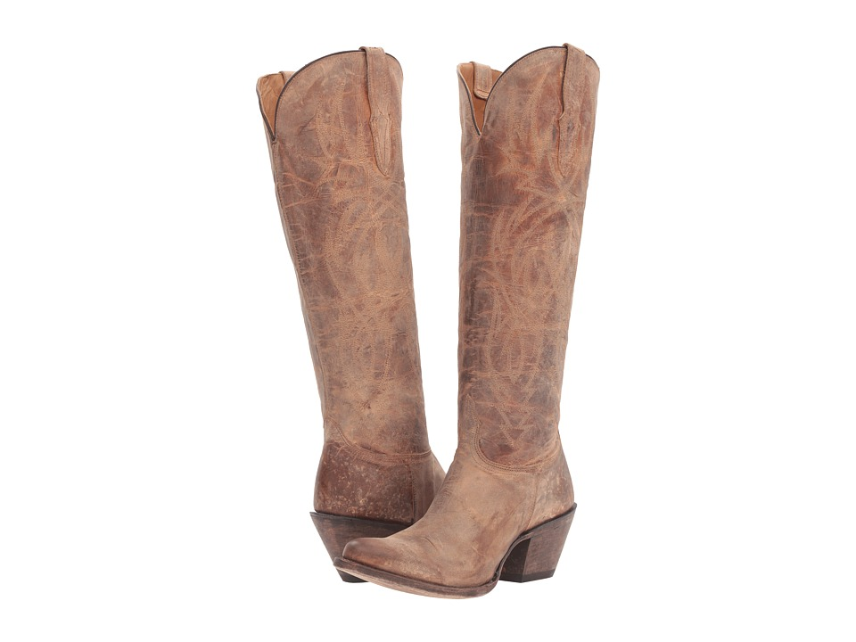 Lucchese - Courtney (Tan) Cowboy Boots