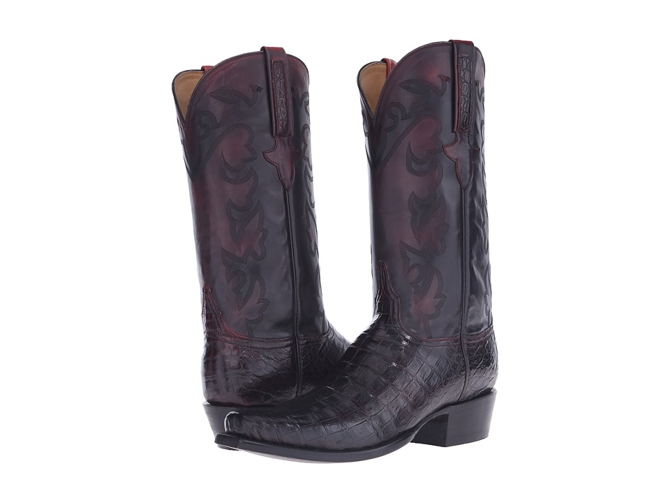 Lucchese - GY1050.73 (Black Cherry) Cowboy Boots