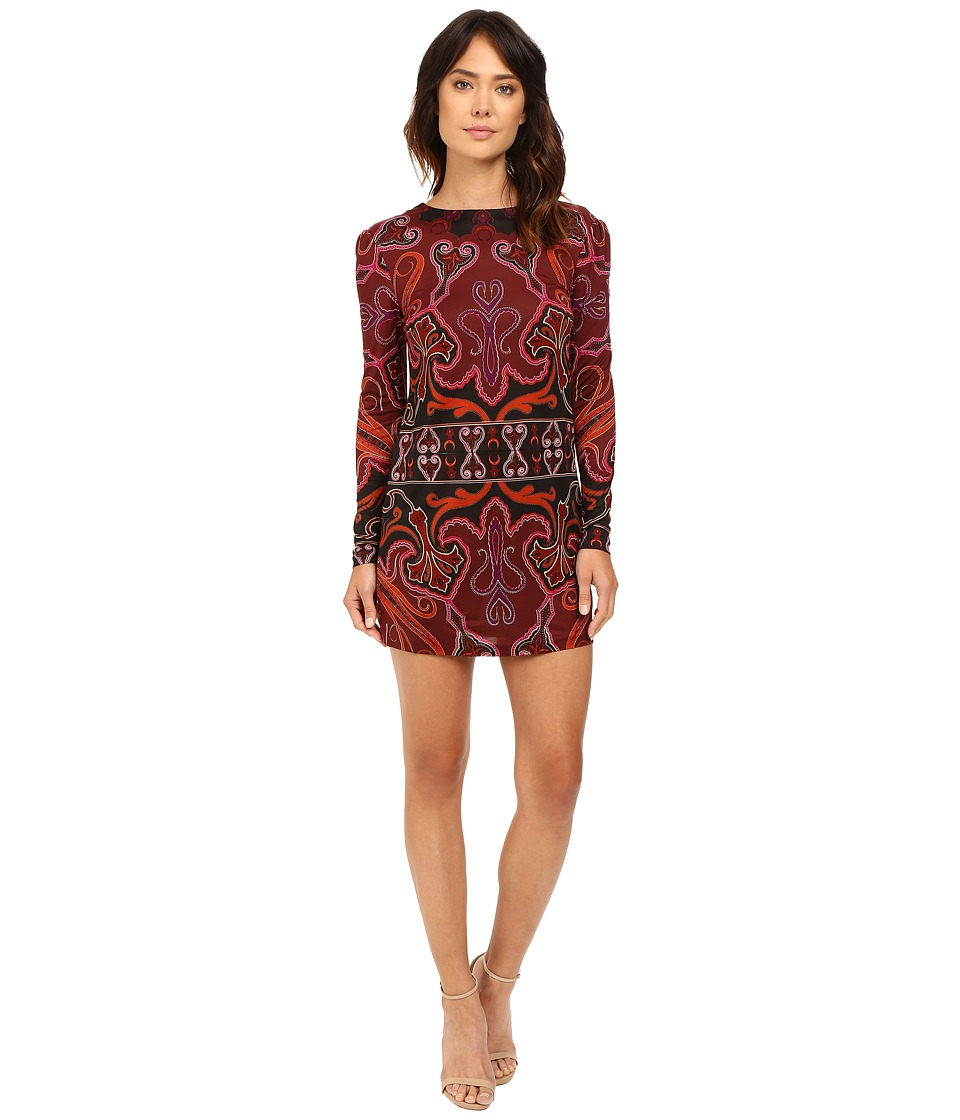 Rachel Zoe - Magnus Dress (Bordeaux) Women's Dress