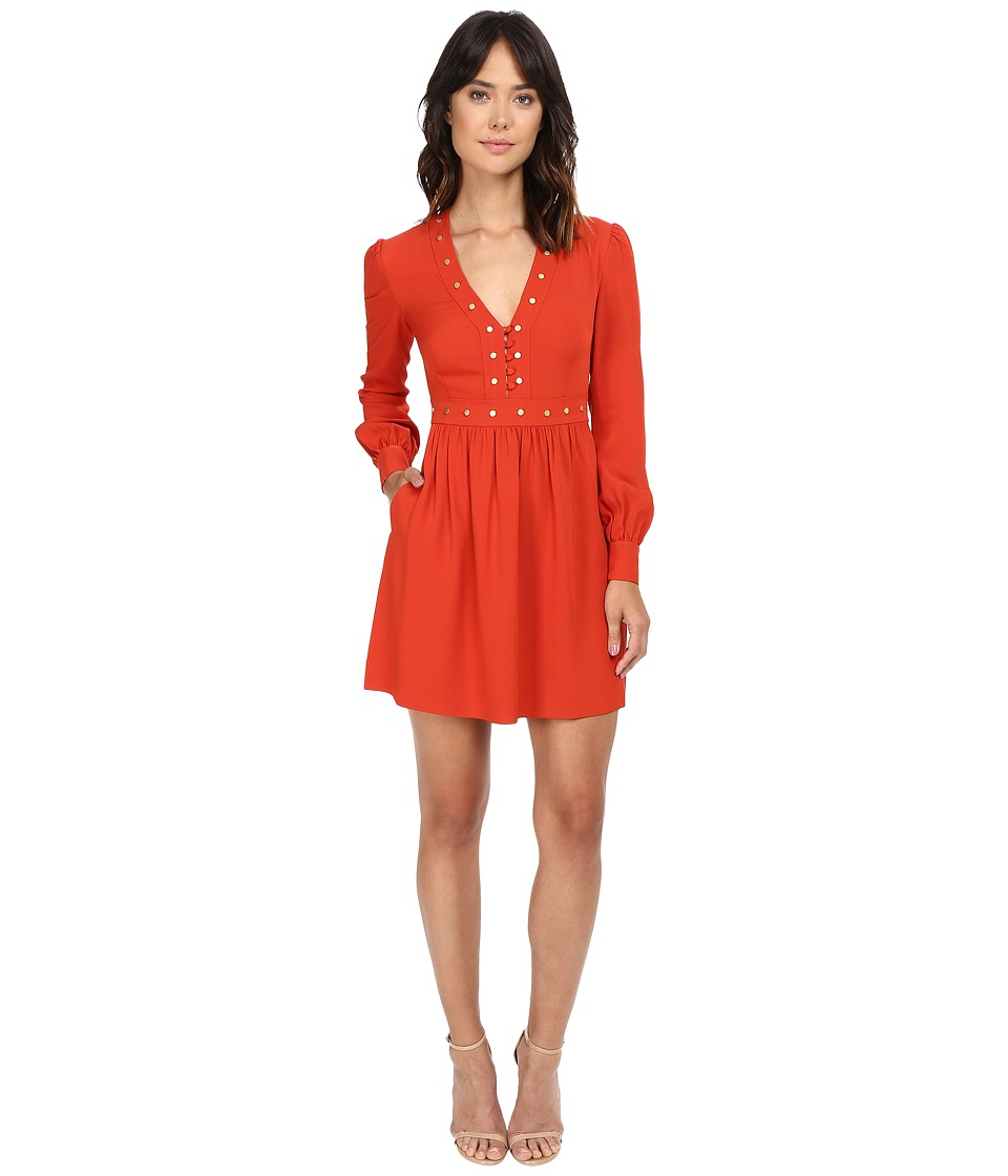 Rachel Zoe Neda Dress (Spice) Women