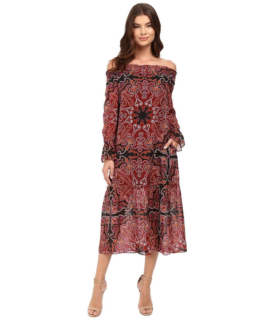 Rachel Zoe - Ariania Dress (Bordeaux) Women's Dress
