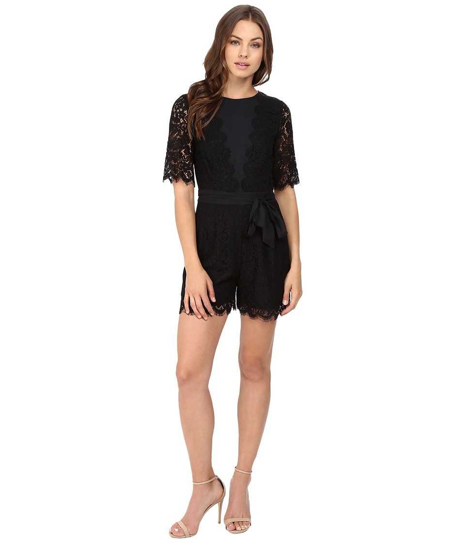 Rachel Zoe - Bennie Romper (Black) Women's Jumpsuit & Rompers One Piece