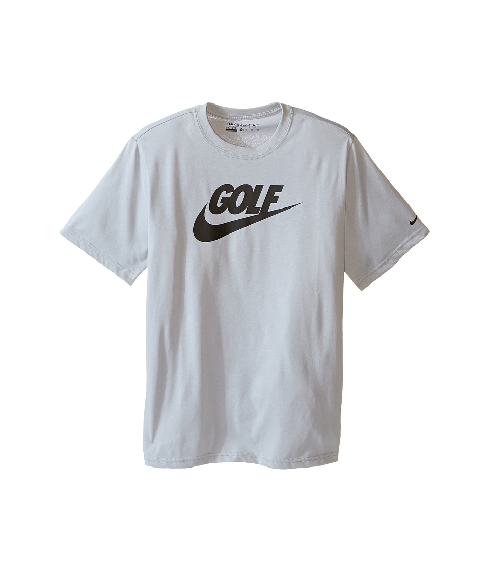 Nike Kids - Golf Graphic Tee (Little Kids/Big Kids) (Wolf Grey/Black) Boy's Short Sleeve Pullover