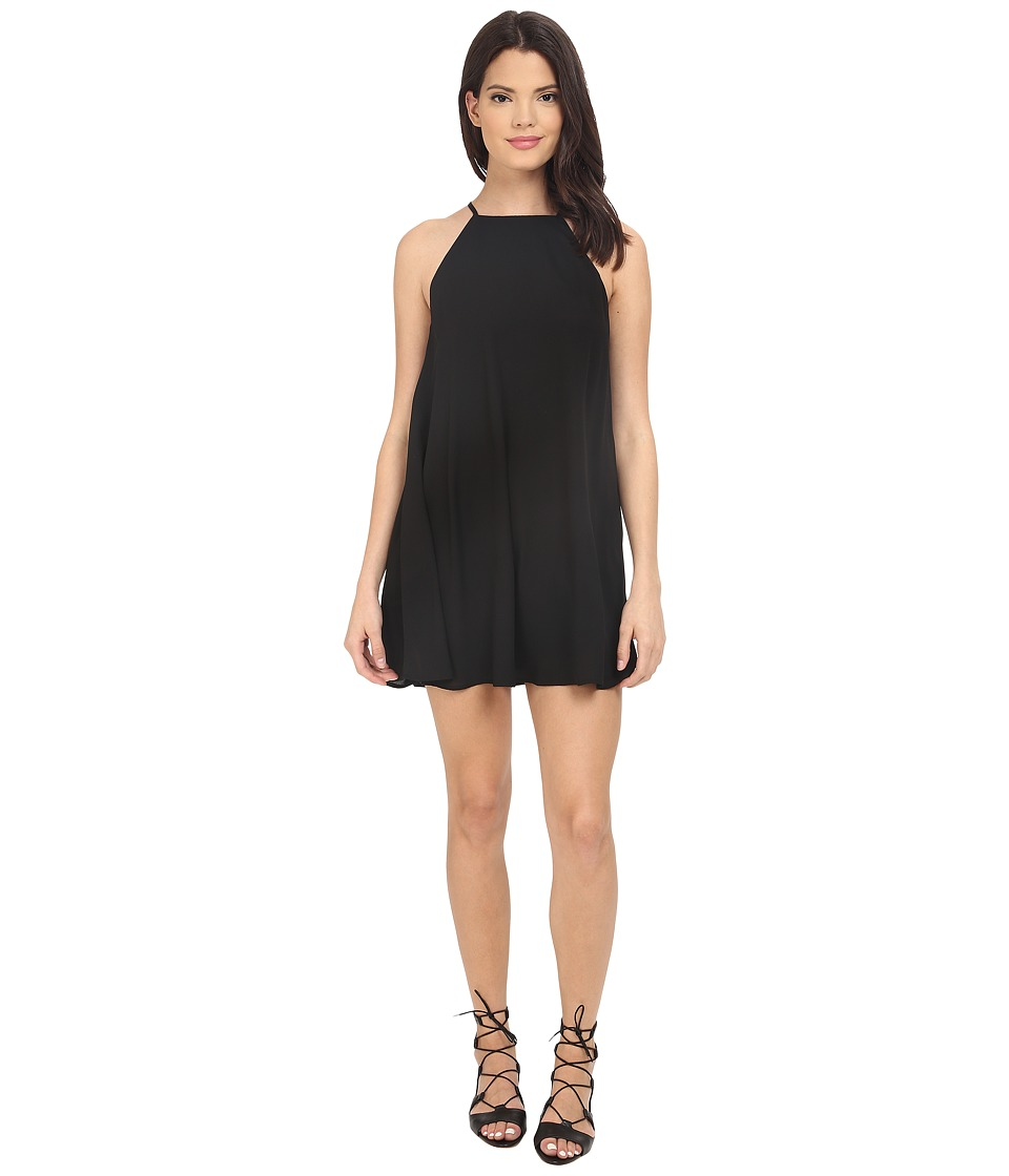 Show Me Your Mumu - Gomez Mini Dress (Black Crisp) Women's Dress
