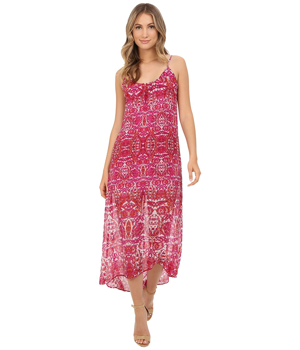 Show Me Your Mumu - Turlington Maxi Dress (Pomegranate Punch) Women's Dress