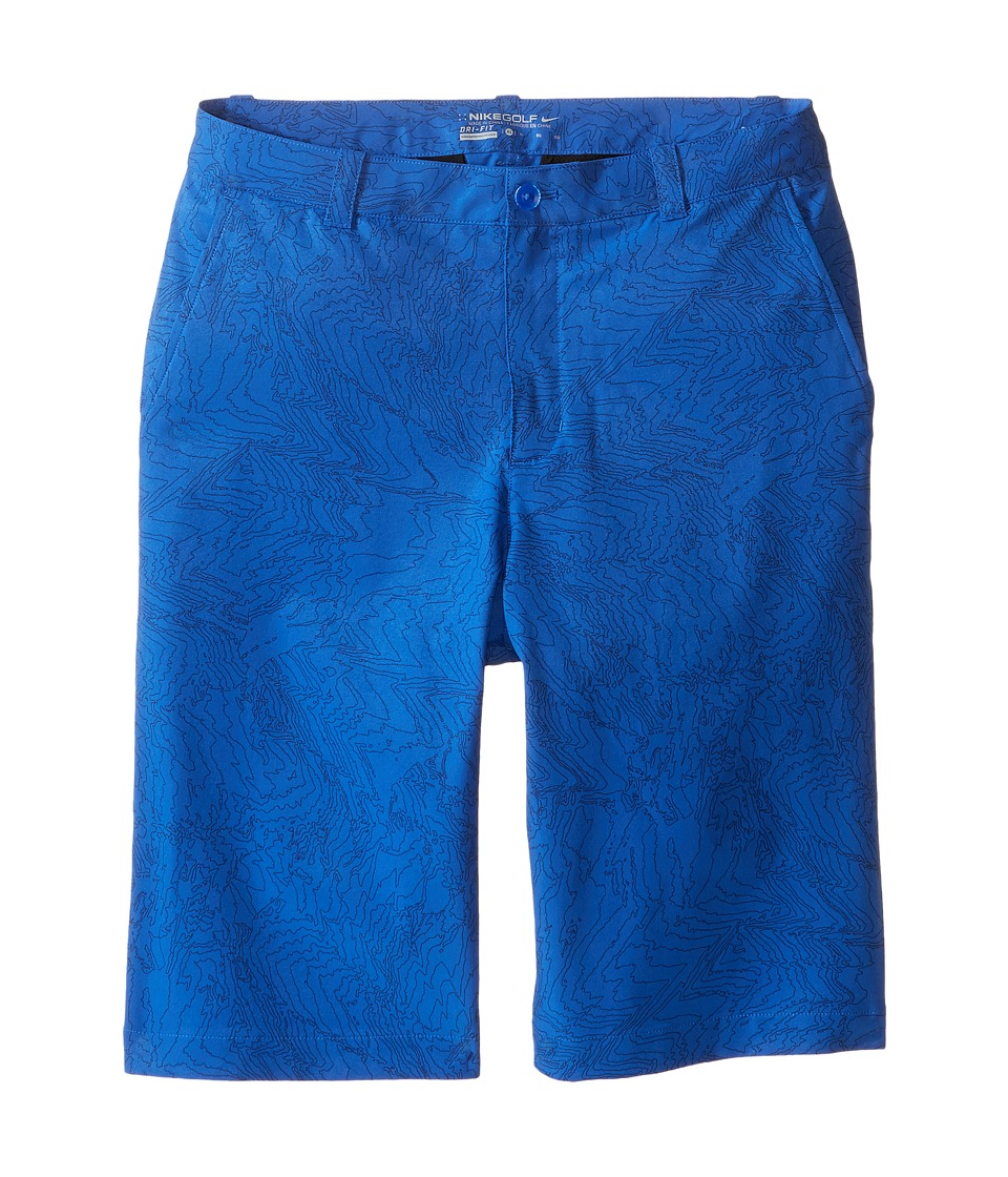 Nike Kids - Novelty Print Shorts (Little Kids/Big Kids) (Game Royal/Wolf Grey) Boy's Shorts
