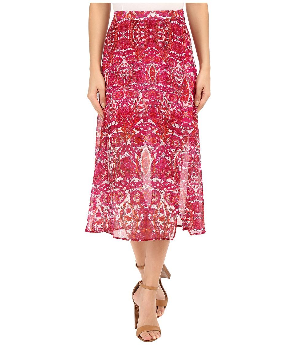 Show Me Your Mumu - Flirt Skirt (Pomegranate Punch) Women's Skirt