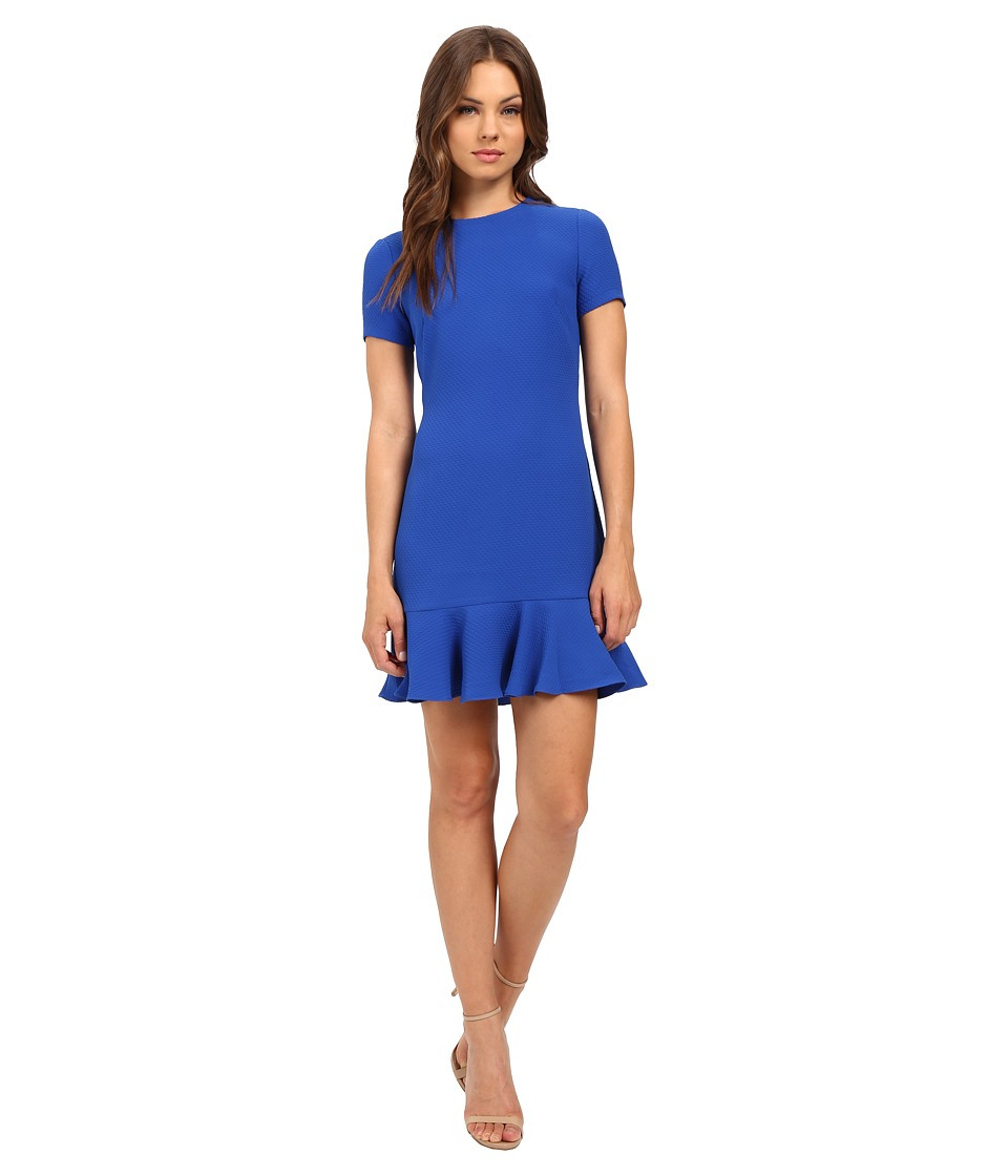 Shoshanna - Tia Dress (Lapis) Women's Dress