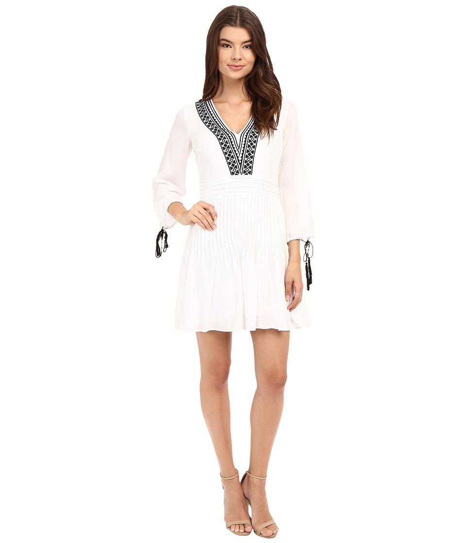 Shoshanna Divya Dress (White/Jet) Women