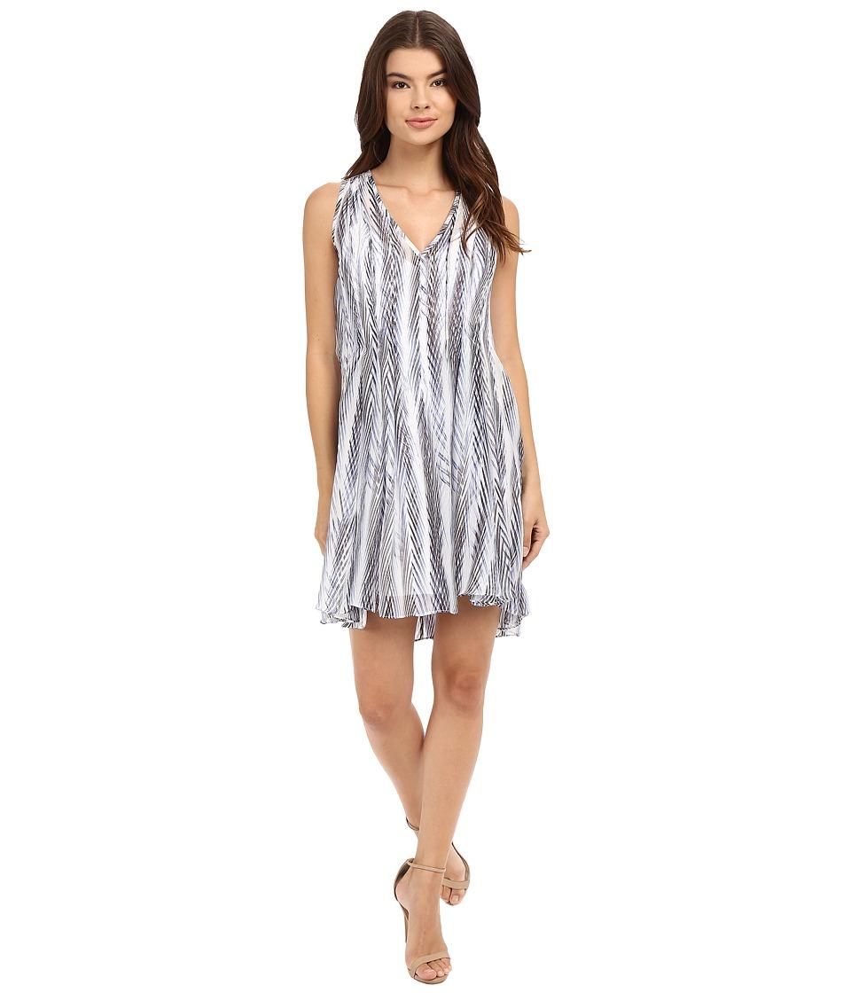 Shoshanna Ayanna Dress (Blue Multi) Women