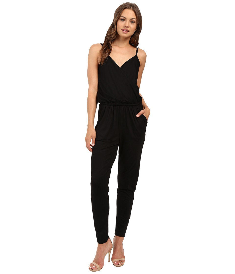 Trina Turk - Johnsie Jumpsuit (Black) Women's Jumpsuit & Rompers One Piece