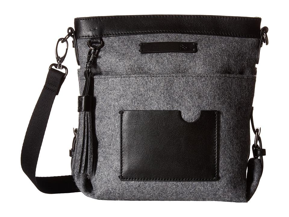Sherpani - Luna (Slate) Satchel Handbags