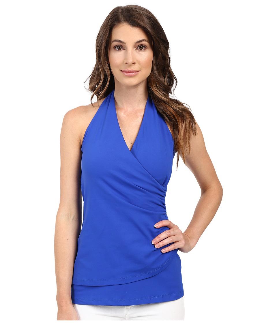 Susana Monaco - Wrap Halter Top (Strobe) Women's Dress