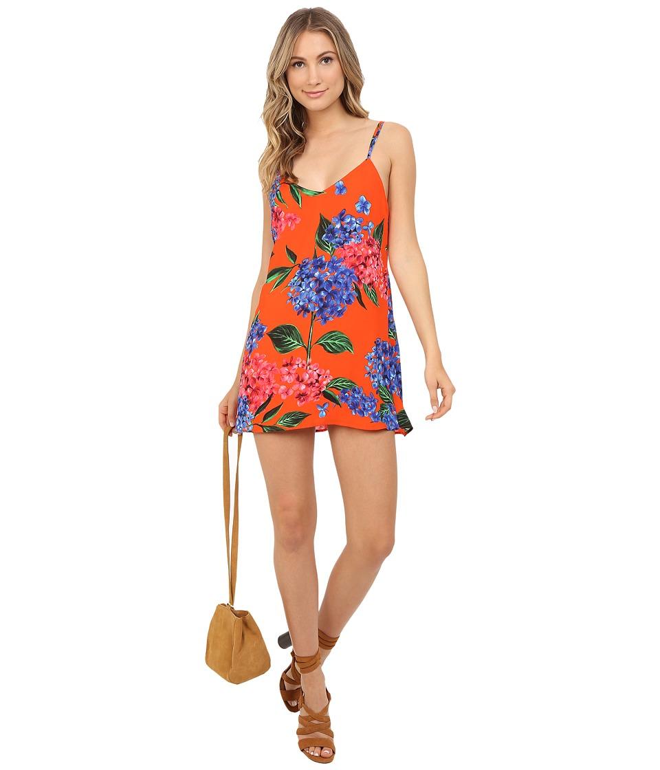 Show Me Your Mumu - Crisscross Applesauce (Bahama Bloom) Women's Dress