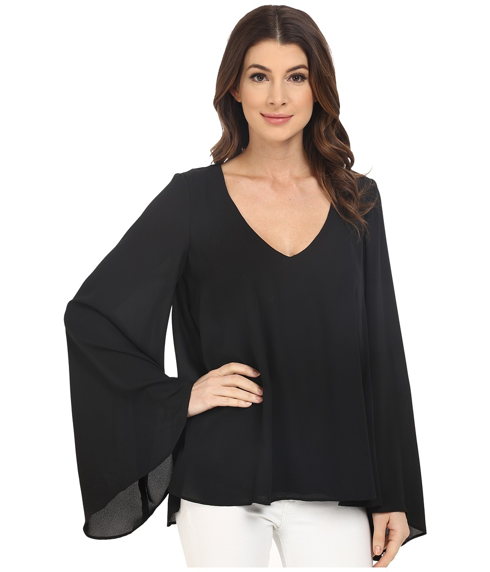 Show Me Your Mumu - Lizzie Top (Black Crisp) Women's Clothing