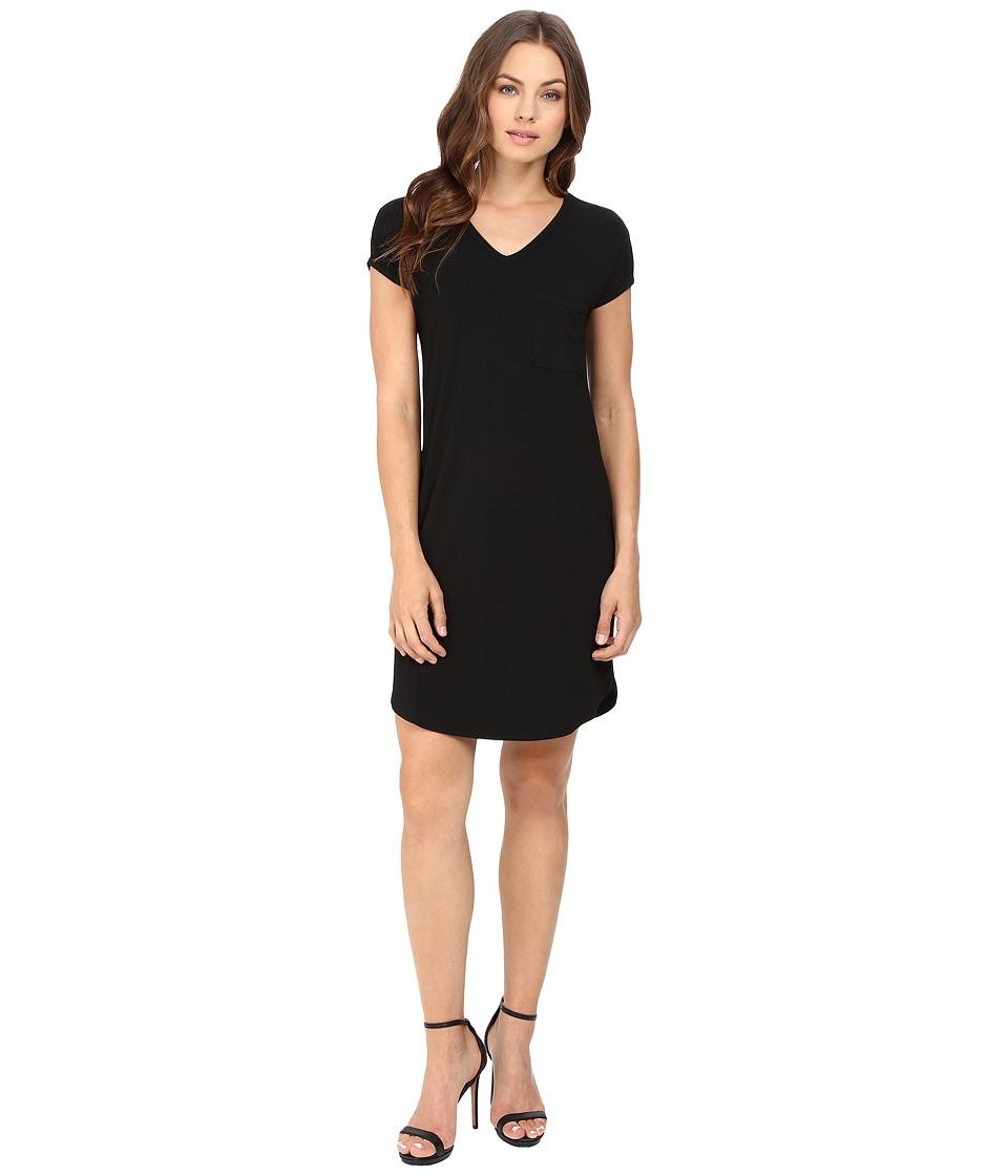 Susana Monaco Tee Dress (Black) Women