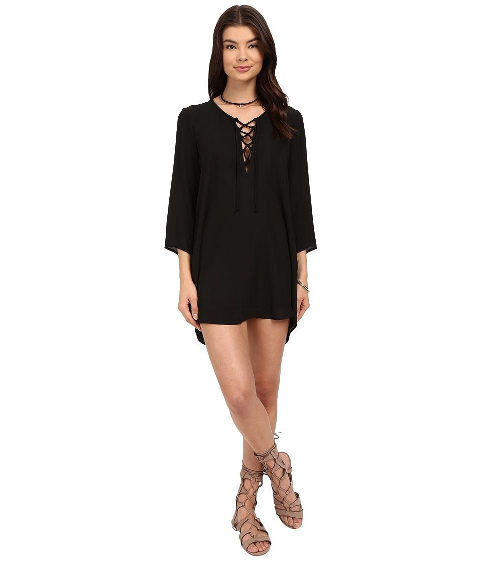 Show Me Your Mumu - Lulu Tunic (Black Crisp) Women's Blouse
