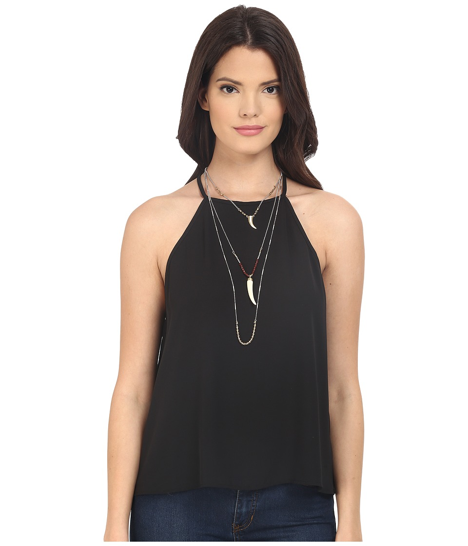 Show Me Your Mumu - Selena Top (Black Crisp) Women's Clothing